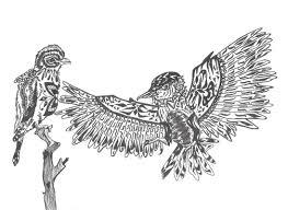 artist nikolay nikolayevich olar series of stylized drawings
