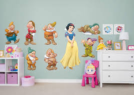 snow white and 7 dwarfs collection wall decal shop fathead for snow white and 7 dwarfs collection fathead wall decal
