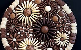 flowers and chocolate chocolate flowers cake decoration telegraph