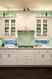 Green And White Kitchen Cabinets Color Combo Mint Green U0026 Apple Spice Red Mint Green Kitchen