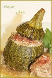 cuisiner la courgette ronde recette de courgette ronde farcie la recette facile