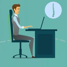 Computer Desk Posture Ergonomic Seating Proper Typing Posture Office Ergonomics