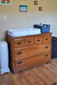 How To Make A Baby Changing Table Diy Changing Table How To Create A Changing Table From A Dresser