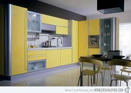 Yellow Grey Kitchen Ideas - 15 yellow modular kitchen ideas home design lover
