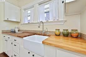 kitchen backsplash height countertop backsplash cottage kitchen with wood counters tile