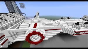 wars corellian corvette tantiveiv wars minecraft