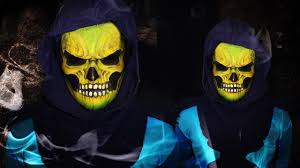 Skeletor Halloween Costume Skeletor Man Makeup Tutorial