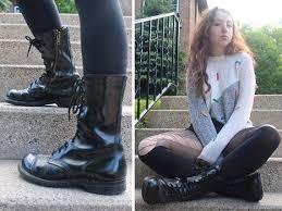 womens black combat boots size 9 90s black combat boots vintage genuine leather shoes boot size
