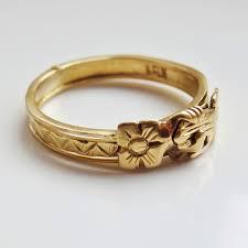 betrothal ring finest scottish 18ct gold fede gimmel ring wedding betrothal