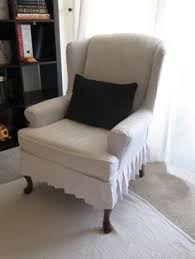 Wing Chair Slipcovers Slipcover A Side Chair Dressmaker Style Upholstery