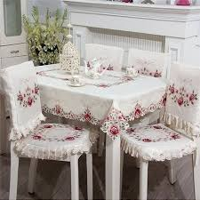 beautiful table cloth design awesome dining table dining table and chair covers image of dining