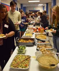 thanksgiving friends annual thanksgiving potluck dinner doane stuart