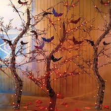 Halloween Decorations Spooky Trees by Pre Lit Spooky Tree Halloween Decor Halloween Outdoor Decor