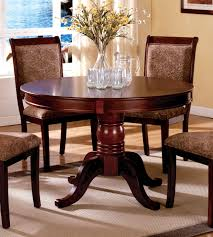 dining table round cherry dining table pythonet home furniture