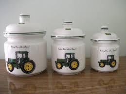 deere kitchen canisters could put decals on my white canisters the new kitchen