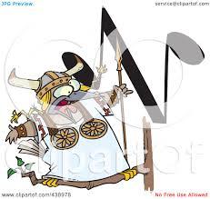 royalty free rf clip art illustration of a cartoon singing
