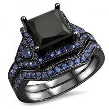black diamond wedding set best 25 black diamond wedding sets ideas on black