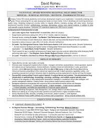 Executive Summary Resume Sample by Med Surg Rn Resume Examples Resume For Your Job Application