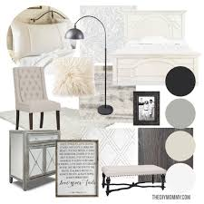Master Bedroom Design Boards Mood Board A Modern French Country Master Bedroom My One Room