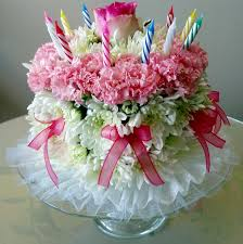 birthday flower cake birthday flower cake flowers from the heart