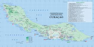 Map Of The Caribbean Islands by Curacao Map Map Of Curacao