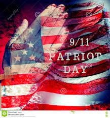 The Flag Of Usa Text 9 11 Patriot Day And Flag Of The United States Of America