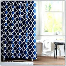 White And Navy Curtains Navy Ikat Curtains Blue Curtains Custom Drapery Navy Ikat Fabric