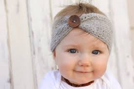 knitted headbands free crochet headband pattern baby sizes
