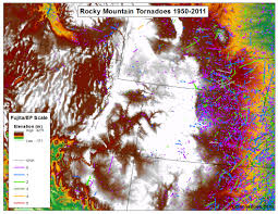 Oregon Elevation Map by Tornadoes Don U0027t Happen In Mountains Or Do They Debunking The