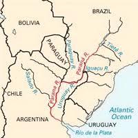 parana river map sally ride earthkam santa fe