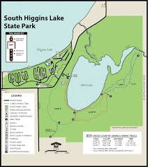 Pennsylvania State Parks Map by South Higgins State Parkmaps U0026 Area Guide Shoreline Visitors Guide