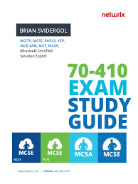 microsoft u0027s 70 410 exam titled installing and configuring windows