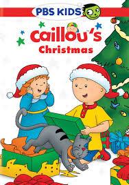caillou u0027s christmas dvd