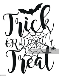 halloween lettering poster vector art getty images