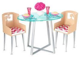 barbie dining room set barbie dinner date doll furniture set toys r us