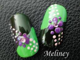 spring flower nail art tutorial that u0027s not grape design cute