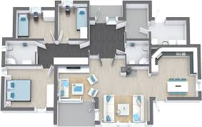 floor plan modern house with floor plan homes floor plans team r4v