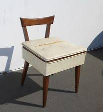 Antique Nursing Sewing Rocker Small Star Pattern Seat Sewing Chair Ebay