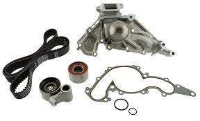 lexus with toyota engine amazon com aisin tkt 001 engine timing belt kit with water pump