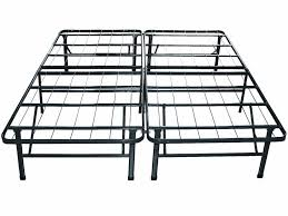 king size bed black steel single bed frame with six legs also