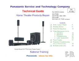 home theater training download free pdf for panasonic sc pt760 home theater manual