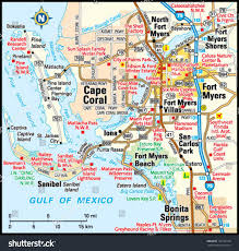 Cape Coral Fl Map Popular 230 List Fort Myers Florida Map