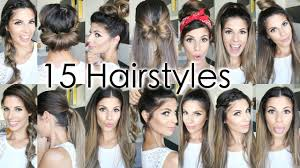 15 back to heatless hairstyles youtube