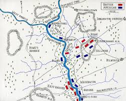 Map Of Usa During Civil War by Battle Of Brandywine Creek
