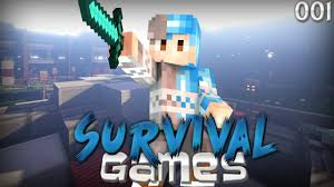free minecraft survival games thumbnail template best download