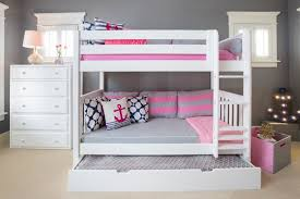 Bunk Bed With Trundle The White Bunk Beds Get It Maxtrix