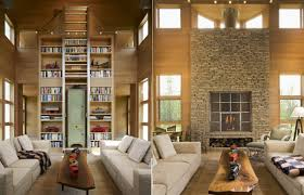Modern Country Homes Interiors House With Warm Practical And Interactive Interior Modern