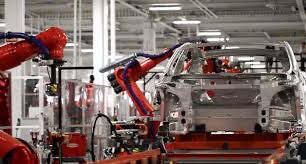 tesla factory tesla idles factory to convert to model x production increase