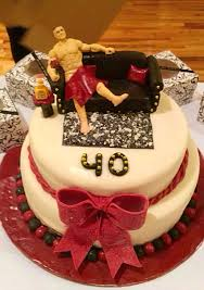 fondant 40th birthday cake what women wouldn u0027t want a guy for