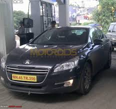 peugeot cars price in india scoop pics peugeot 207 508 spotted testing on the mh